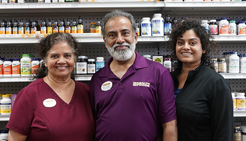 Omega Health Foods - a family owned health food store in Bethany, OK - E.V., Joy, and Julie.